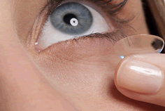 contact lens image